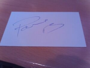 signed card of ex hull city and italy footballer  andrea ranocchia