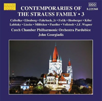 CLASSICAL V.A.-CONTEMPORARIES OF THE STRAUSS FAMILY . 3-JAPAN CD F04