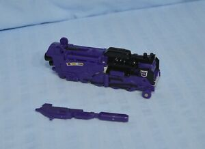 Transformers G1 ASTROTRAIN Decepticon Triplechanger complete Train Shuttle