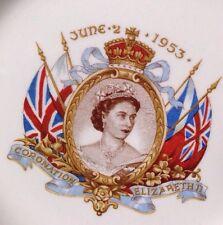 Queen Elizabeth II Coronation Plate June 2 1953 Empire Engalnd