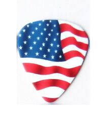 Médiator Drapeau Américain USA Guitare Basse NEUF