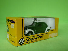 DANDY TOMICA F21 VW VOLKSWAGEN 1200LE  - POLIZEI - GREEN/WHITE NEAR MINT IN BOX