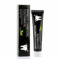 US Natural Activated Bamboo Charcoal Toothpaste Teeth Whitening Remove Stains