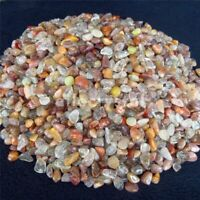 1/2lb Natural Tumbled Coloured Quartz Rutilated Bulk Crystal Stone Healing Reiki