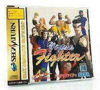 Virtua Fighter - Sega Saturn Jap Japan complet spin card