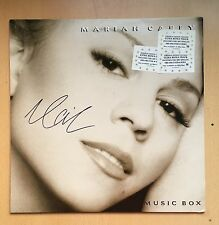 Mariah Carey Music Box VINYL LP ALBUM EU EDITION EXTRA TRACK  Autographed SIGNED