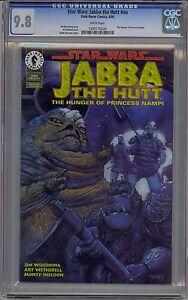 STAR WARS: JABBA THE HUTT CGC 9.8 WHITE PAGES DARK HORSE