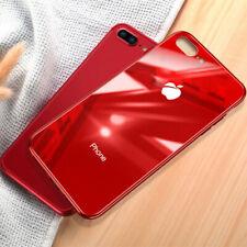 Funda Para A pple i Phone X XR XS Max 8 7 6S 6Plus cristal templado+Logo Carcasa