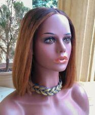 Virgin Human Hair Wig/ Echthaar Perücke/ Bob wig Perücke