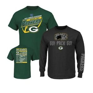 MAJESTIC GREEN BAY PACKERS NFL 3-IN-1 T-SHIRT COMBO-SIZE XL-NWT-ORIG $36.95