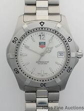Genuine Tag Heuer WK112-1 2000 Series Professional Mens Watch