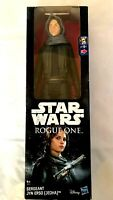 Star Wars Rogue One SERGEANT JYN ERSO (JEDHA) ACTION Figure 6 inch new boxed