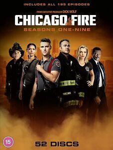 Chicago Fire: Season 1-9 [2012-2021] (DVD)