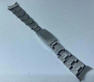Original Rolex Vintage Midsize Oyster Stainless Steel Rivet Bracelet / Band 19MM