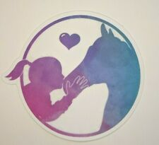 Watercolor Horse Sticker