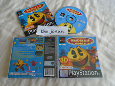 Pac Man World PS1 (COMPLETE) classic Sony PlayStation black label platform