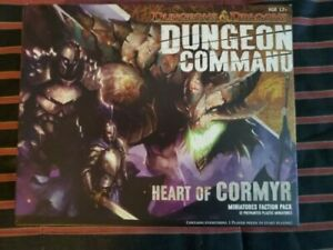 Dungeons & Dragons Dungeon Command Heart of Cormyr miniatures faction box