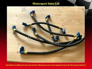 Power Steering hoses with  with Dash 8 fittings (6 pieces)