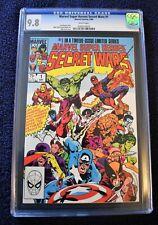 Marvel Super Heroes Secret Wars #1 CGC 9.8 White Pages