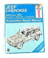 Haynes Manuals: Jeep Cherokee, 1984 - 1996 by J. H