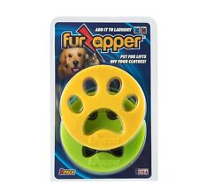 Genuine FurZapper 2-Pack Pet Hair Remover for Clothing, Bedding, Pet Beds