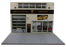 Diorama Garage Lamborghini - 1/18ème - #18-2-f-f-001