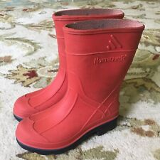 Rain Boots Size 8 Toddler Northerner Mud Puddle Red Boys Girls Shoes Kids