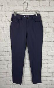 NEW Nike Womens Purple Repel Golf Pants Size 8 Slim Fit
