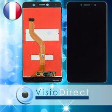 Ecran complet pour Huawei P8 P9 Lite 2017  vitre + LCD noir blanc or bleu+ verre
