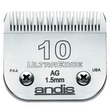 Andis Detachable Clipper Blade-Ultraedge | Size #10 | Fits most detach clippers
