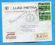 1973 FED.ITAL.GIOCO CALCIO £.90 COPPIA ann.COLOGNO MONZ., 28.08.73   (303407)