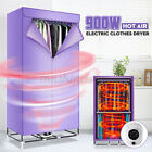 """110V Electric Clothes Dryer 59"""" Heater Cloth Drying Machine Wardrobe Rack Home"""