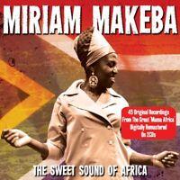 MIRIAM MAKEBA - THE SWEET SOUND OF AFRICA 2 CD NEU