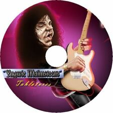 Yngwie Malmsteen BASS & CHITARRA Scheda CD tablature Best of Greatest Hits Musica Canzone