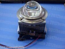 DC12V Led Heatsink+ 66mm Glass Lens for 20W 30W 50W 100W High Power Led