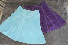 2 ATHLETA Brand Women's Athletic Skorts Size 8 Tall - Perfect Condition