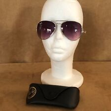 RayBan Aviator gold in case Sunglasses 3026 polarized unisex gray lens