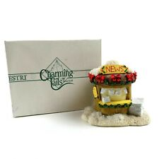 Charming Tails Newsstand 87591 With Box