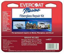 BOAT MARINE FIBERGLASS REPAIR KIT 8oz Permanent Repairs Fiberglass Wood Metal
