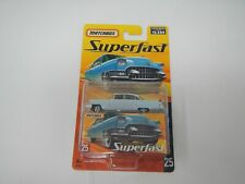 Matchbox SuperFast 1955 Cadillac Fleetwood Blue #25