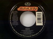 "KISS ""FOREVER (REMIX) / THE STREET GIVETH & THE STREET TAKETH AWAY"" 45"