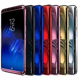 Shockproof Hard Case Samsung Galaxy S7 edge S8 Plus Hybrid 360 Ultra Thin Mirror