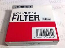 Tamron 62mm 1A Skylight rivestito VETRO FILTRO LENTE sky-1a avvitamento 62 mm
