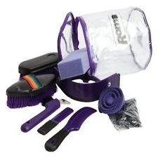 Brand New Horse Cob Pony Childs Kids Roma Cylinder Grooming Kit Horse Brush Set