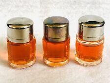 Lot of 3 Vintage ESCAPE by Calvin Klein Mini Splash Perfume .13oz Bottle NO BOX