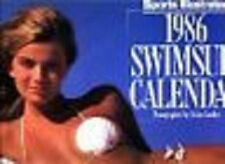 reduced! 1986 SPORTS ILLUSTRATED SWIMSUIT wall calendar page/month KATHY IRELAND