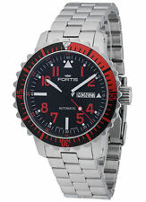FORTIS b-42 marinemaster AUTOMATICO DAY/DATE Red 670.23.43 M