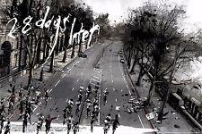 28 días más tarde Variante cartel de cine alternativo por artista Mondo Jock no./250