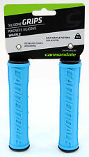 Cannondale Waffle Silicone Mountain Bike Grips Blue