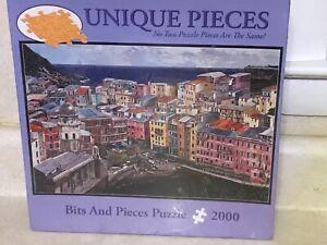 BITS & PIECES 2000 Piece Jigsaw Puzzle - Varenna Lake Como, Italy Guzzi NIB